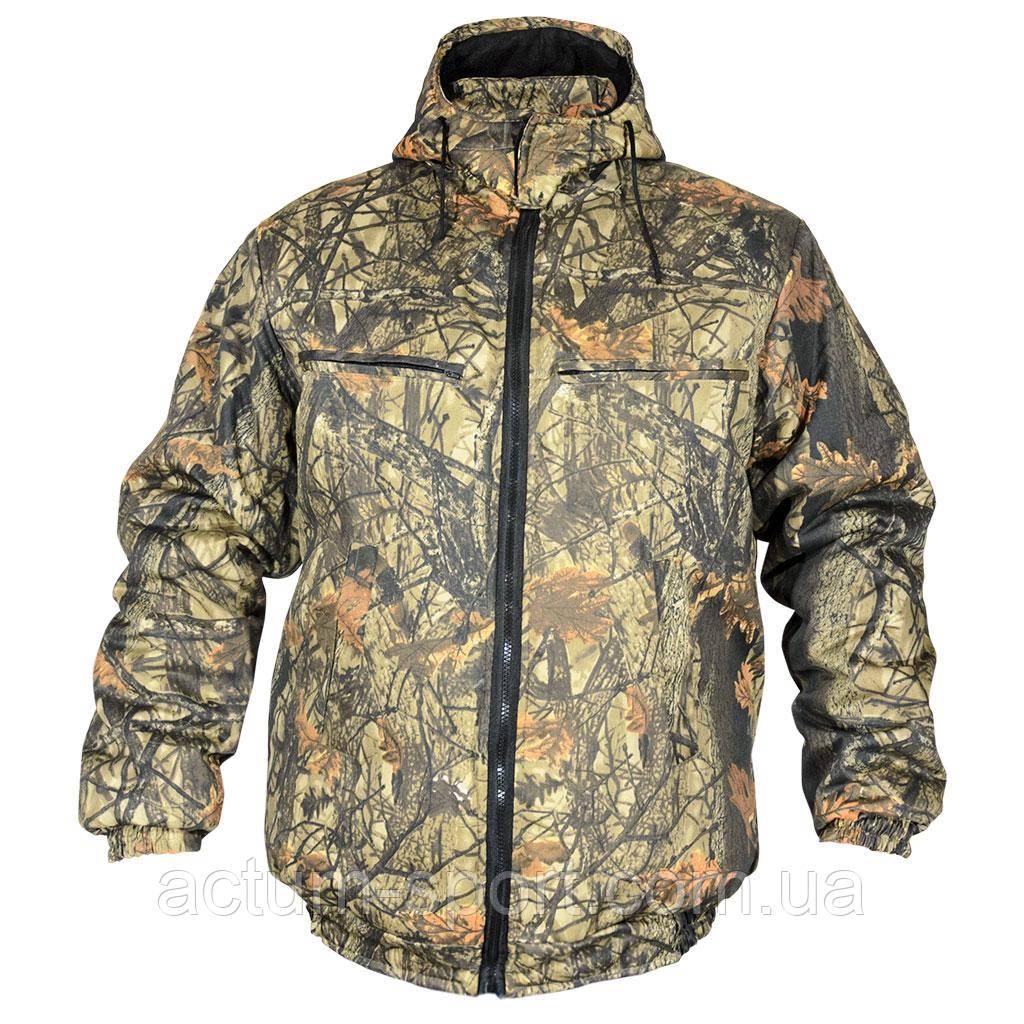 Мужская зимняя куртка с капюшоном Пилот Дубок 56