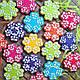 """Вырубка пластиковая для пряников и имбирного печенья """"Цветочки"""" набор из 3 двухсторонних форм, фото 2"""