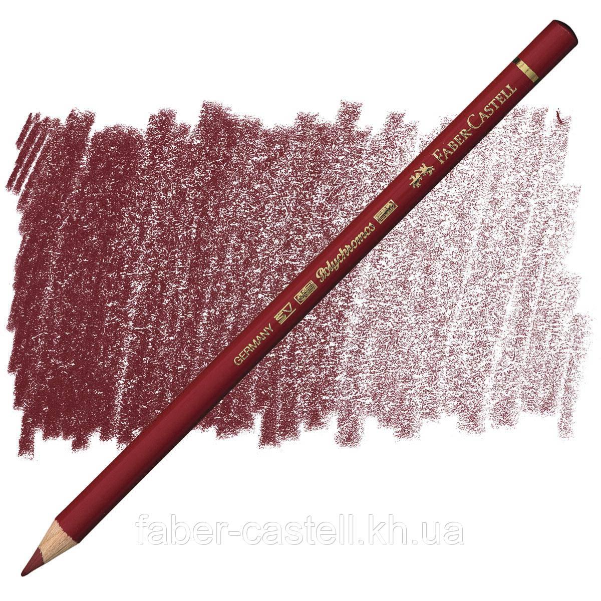 Олівець кольоровий Faber-Castell POLYCHROMOS кадмиевый червоний №217 (Middle Cadmium Red), 110217