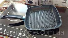 Сковорода гриль двусторонняя Royalty Line RL-DF32M Silver-