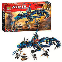 "Конструктор Bela ""Ninja"" (10936) Вестник Бури, 515 деталей - Аналог Lego Ninjago (Лего Ниндзяго) 70652"