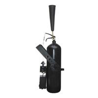 Генератор белоснежного дыма СО2  BL006 DMX