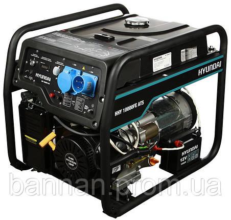 Генератор бензиновый Hyundai HHY 10000FE ATS, фото 2