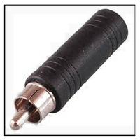 Переходник с RCA на 6,3 моно  RCA to 6,3mm