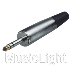 Конектор джек 6,3 стерео GCD038/N