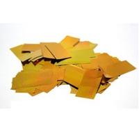 Металлическая нарезка конфетти- размер 2см*5см  4201 - ЗОЛОТОЙ МАЙЛАР