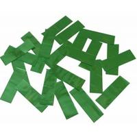 Металлическая нарезка конфетти - размер 2см*5см  4201 - ЗЕЛЕНЫЙ МАЙЛАР