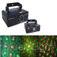 Лазер BIG  BEQ200 ( Эффект лазерного салюта+звезды+ плоскости+спирали+фигуры )