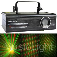 Лазер BIG BE017 ( звездная пыль, эфект лазерного салюта, эффекта летяших метеоров + стробо эффект )