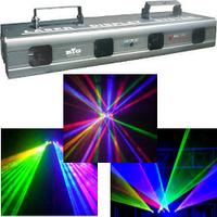 Анимационный лазер BE511A(RGBY) (красный, синий, жёлтый и зелёный)