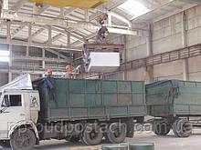 Погрузка на заводе Купянского газоблока