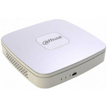 4-канальний Smart 1U 4PoE мережевий відеореєстратор DH-NVR1A04-4P