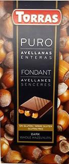 Черный  шоколад Torras c фундуком , 200 гр, фото 2