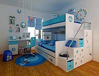 Комплект детской мебели, кровать-чердак