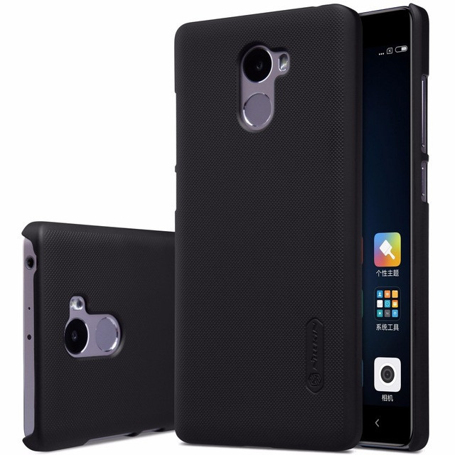 Чехол Nillkin Super Frosted Shield для Xiaomi Redmi 4 Black
