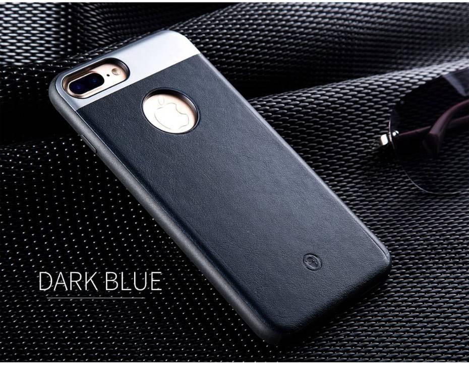 Чехол для iPhone 7 Fshang Gucci синий