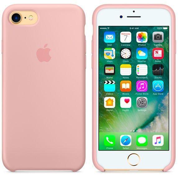 Чехол для iPhone 7 Original case силикон (hc), розовый