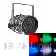 Полноценный прожектор на светодиодах BIG BM018A-54*3W 256 вариантов цветов, DMX