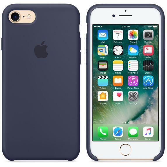 Чехол для iPhone 7 Original case силикон (hc), синий