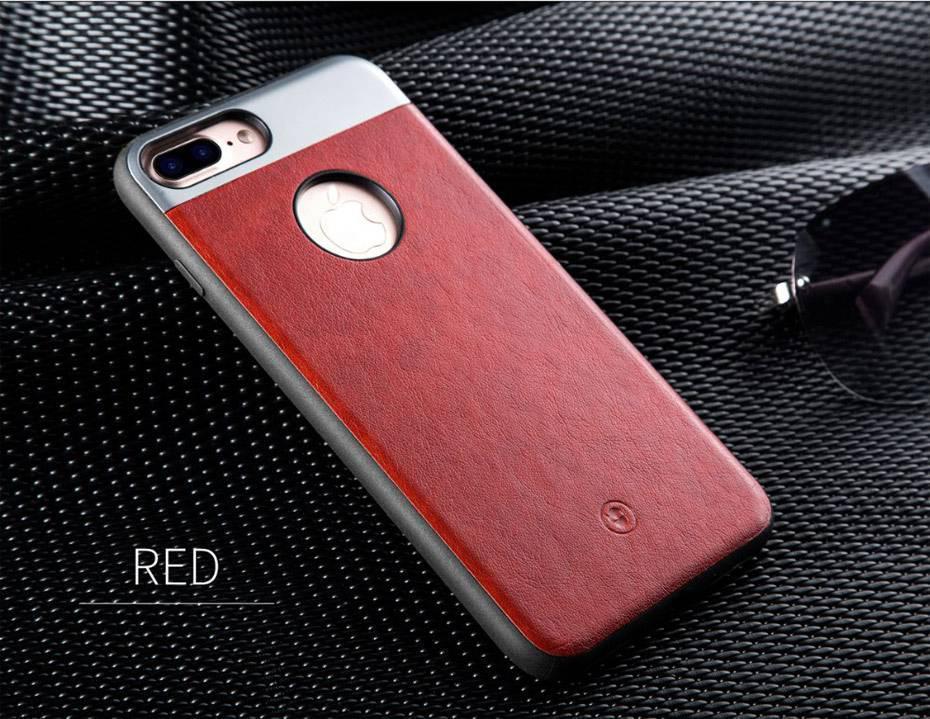 Чехол для iPhone 7 Fshang Gucci красный