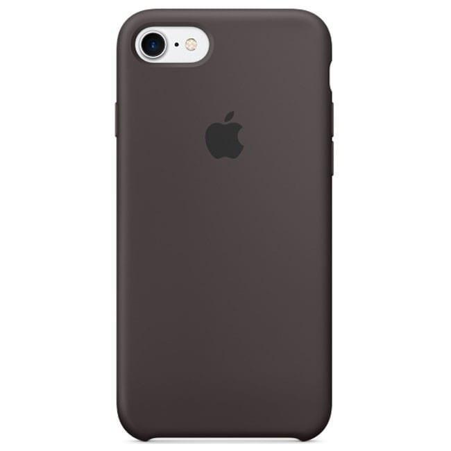Чехол для iPhone 7 Original silicone case какао