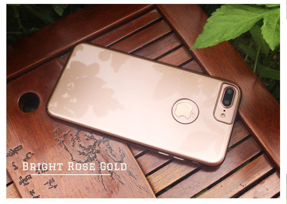 Чехол для iPhone 7 Fshang Rick розовое золото