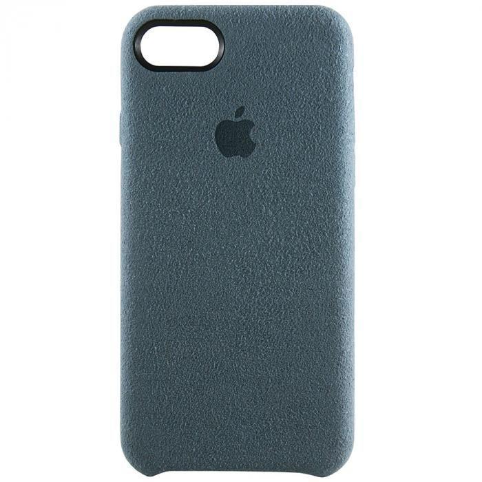 Чехол для iPhone 7 из Алькантары серый