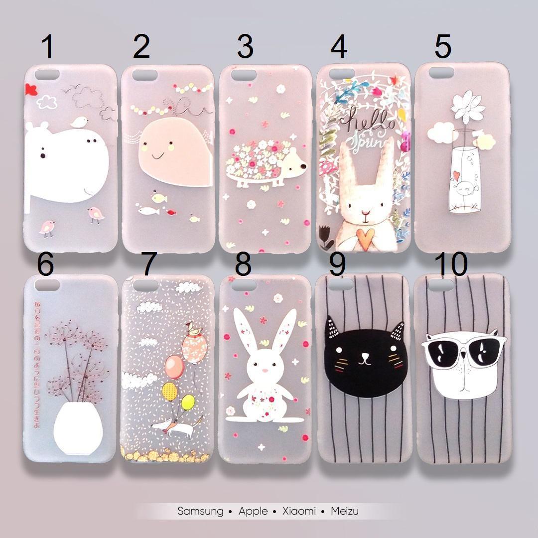 Чохол для iPhone 7, 8 Fashion Zoo. силікон матовий