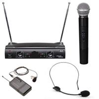 Ручной радиомикрофон Shure UT42-1 ( 1 ручной + 1 черный наголовный микрофон на одной базе )
