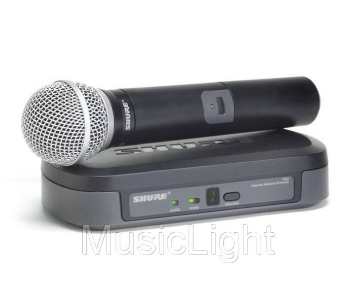 Радиомикрофон с ручным микрофоном Shure PG4