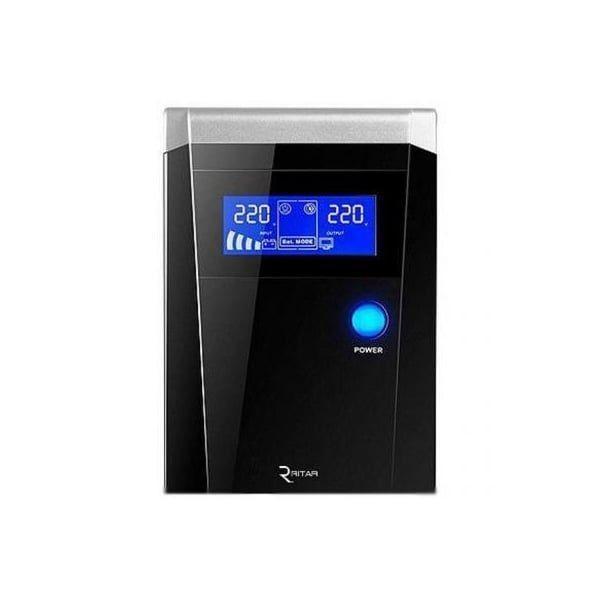 Источник бесперебойного питания ИБП UPS (с правильной синусоидой) RITAR RTSW-500 LCD