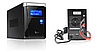 Джерело безперебійного живлення ДБЖ (з правильною синусоїдою) RITAR RTSW-500 LCD, фото 2