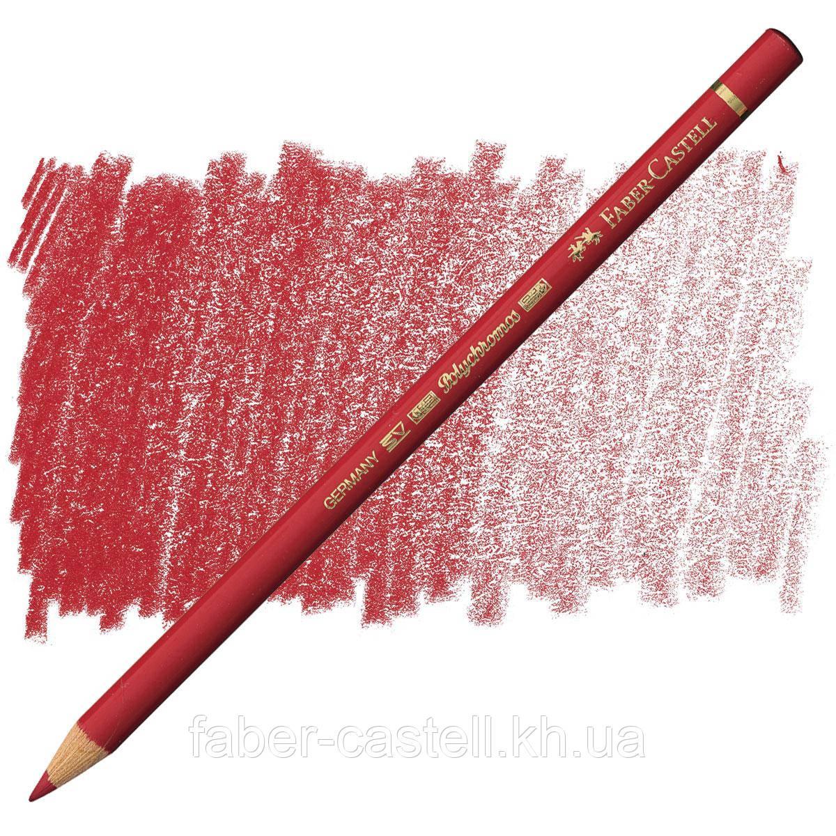 Олівець кольоровий Faber-Castell POLYCHROMOS глибокий червоний №223 (Deep Red), 110223