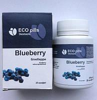 ✅EcoPills Blueberry - Конфеты таблетированные для восстановления зрения