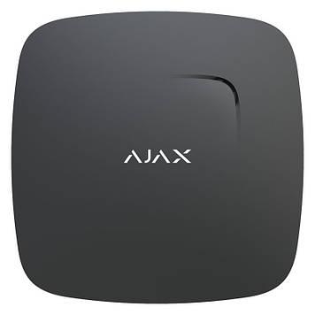 Бездротовий датчик детектування диму і чадного газу Ajax FireProtect Plus black
