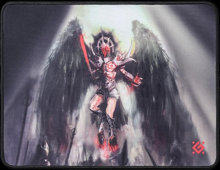 Игровой коврик DEFENDER Angel of Death M 360x270x3 мм, ткань+резина