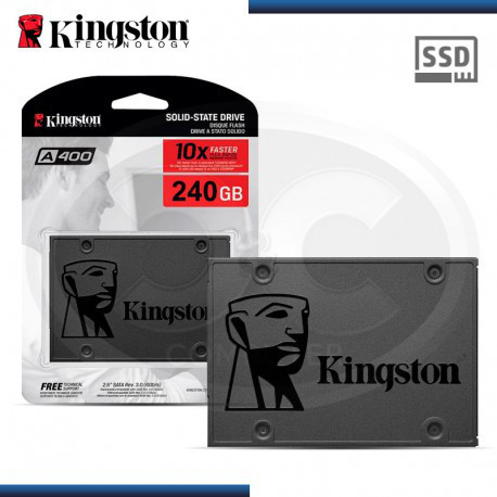 "SSD Kingston SSDNow A400 240GB 2.5"" SATAIII TLC (SA400S37/240G)"