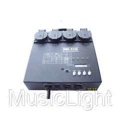 Диммерный контроллер BD-005N (4CH dimmer pack)