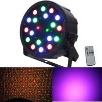 Динамический светодиодно-лазерный прибор нового поколения LASER PAR