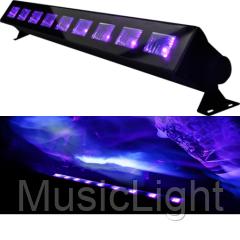 Ультрофиолетовый светодиодный прожектор нового поколения Big LED-UV - 9*3W