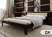 Дерев'яне ліжко Венеція М'яке узголів'я ЧДК, фото 1