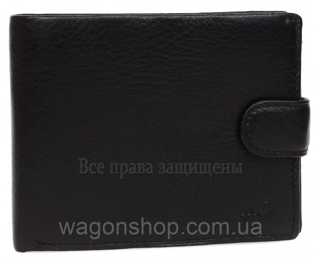 Кожаный мужской классический кошелек MD Leather Collection