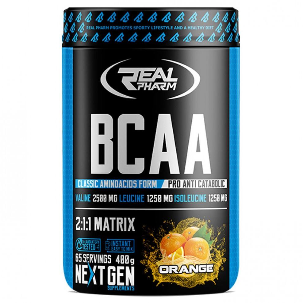BCAA Real Pharm BCAA Instant 400 g cola