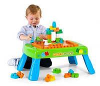 Игровой стол Molto с конструктором 20 элементов 14480