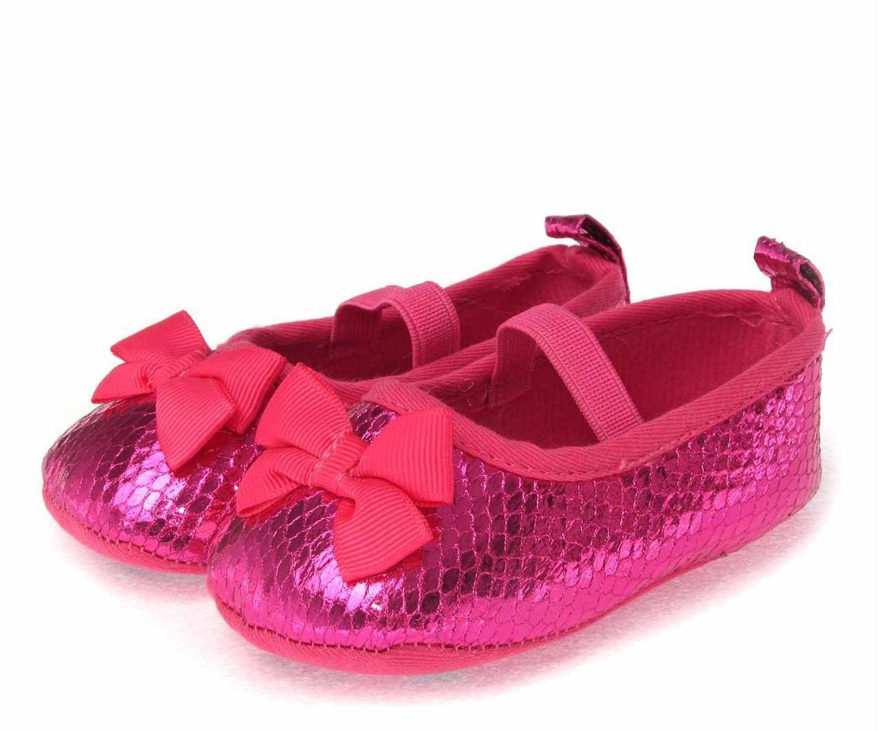 Нарядные туфельки-пинетки для  девочки 13 см.