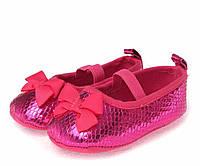 Нарядные туфельки-пинетки для  девочки 13 см., фото 1