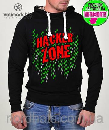 """Молодежный реглан """"Hacker """" 057 , фото 2"""