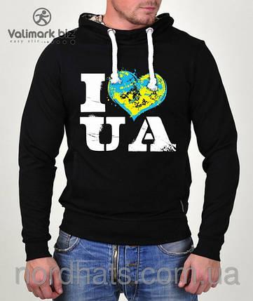"""Реглан патріотичний """"I Love UA """"080, фото 2"""
