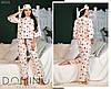Женская пижама байковая (мод. 0800)