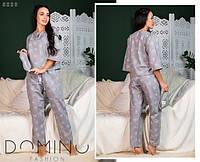 Женская пижама байковая (мод. 0800), фото 1